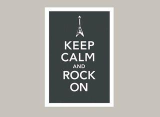 KeepCalmAndRockOn_Poster