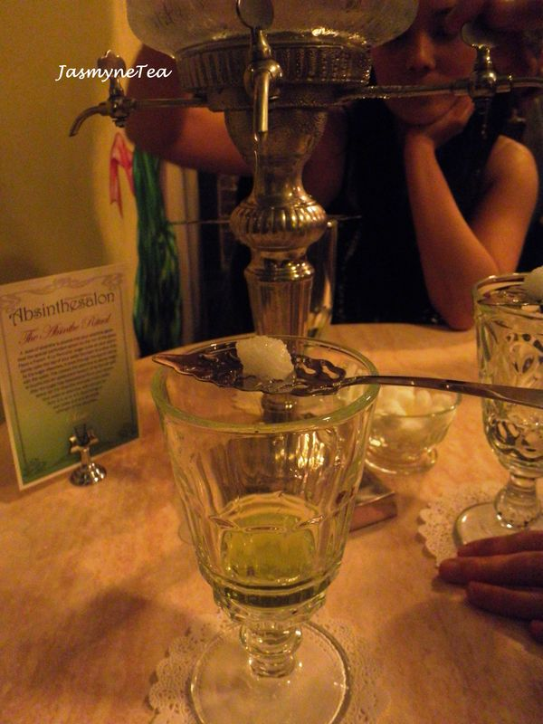 The Absinthe Salon Surry Hills Jasmyne Tea